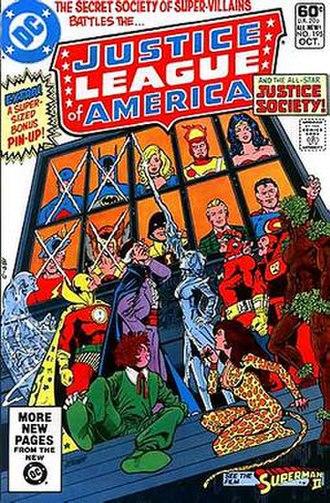 Secret Society of Super Villains - Image: J Lof A 195