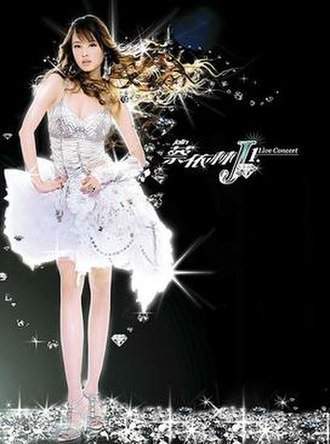 J1 World Tour - Promotional poster for the tour