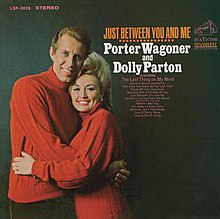 Just Between You and Me (Dolly Parton and Porter Wagoner album - cover art).jpg