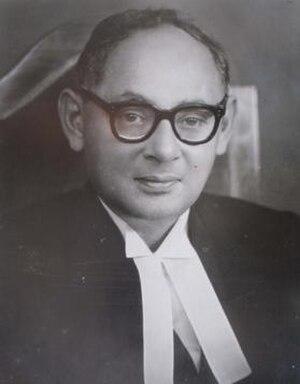 Manzur Qadir - Image: Justice Manzoor Qadir