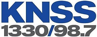 KNSS (AM) - Image: KNSS 1330 98.7 logo
