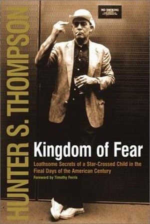Kingdom of Fear (book) - First edition (publ. Simon & Schuster)
