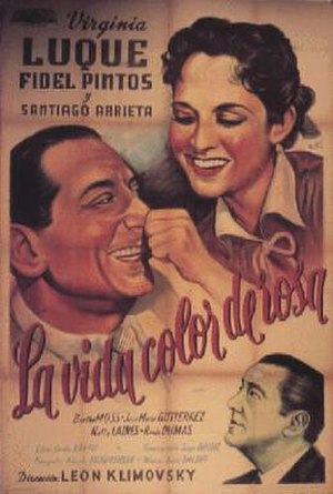 La Vida color de rosa - Theatrical release poster