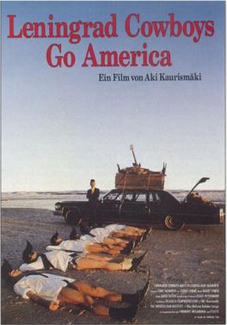 Leningrad Cowboys Go America - German theatrical poster