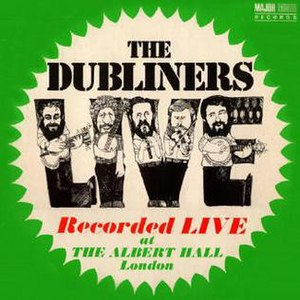 Live at the Albert Hall (The Dubliners album) - Image: Live at the Albert Hall