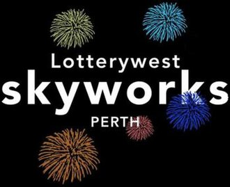 City of Perth Skyworks - The old Skyworks Logo