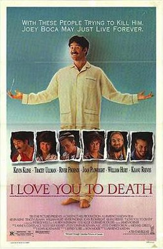 I Love You to Death - Theatrical release poster