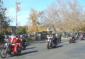 Marysville, California - Image: Marysville California Christmas Toy Run