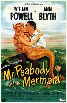 Mr Peabody And The Mermaid FilmPosterjpeg