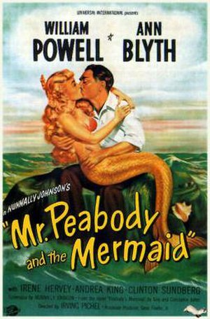 Mr. Peabody and the Mermaid - Theatrical Film Poster