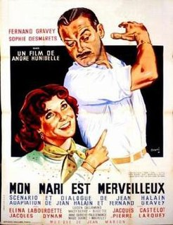<i>My Husband Is Marvelous</i> 1953 film by André Hunebelle
