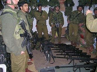 Netzah Yehuda Battalion - Image: Nahal Haredi 2