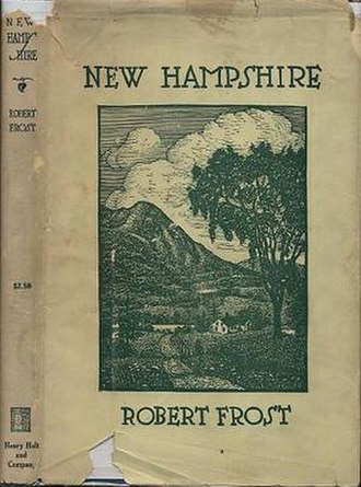New Hampshire (poetry collection) - First edition (publ. Henry Holt)