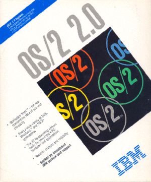 OS/2 - The OS/2 2.0 upgrade box
