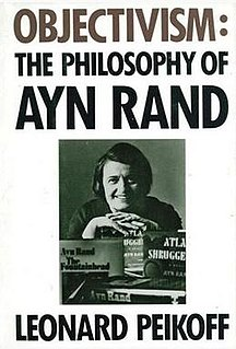 <i>Objectivism: The Philosophy of Ayn Rand</i> book by Leonard Peikoff