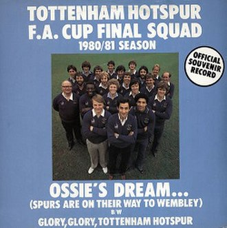 Ossie's Dream (Spurs Are on Their Way to Wembley) - Image: Ossie's Dream Tottenham Hotspur FA Cup squad