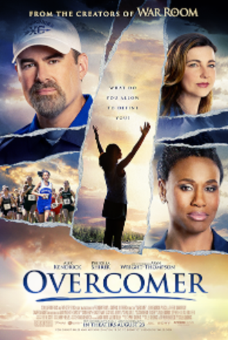 Overcomer (film) - Overcomers first promotional poster