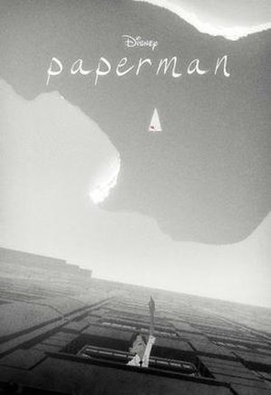 Paperman - Promotional poster by Jeff Turley