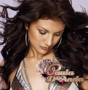Paula DeAnda (album) - Image: Paula deanda album cover