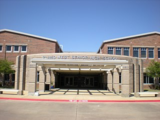 Plano West Senior High School Public high school in Plano, Texas, United States