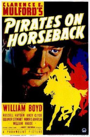 Pirates on Horseback - Theatrical release poster