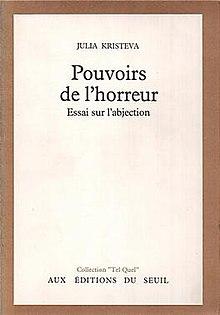 Kristeva julia. powers of horror an essay on abjection