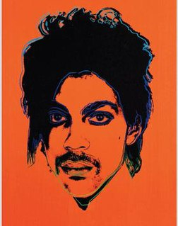 <i>Orange Prince</i> (1984) Painting by Andy Warhol