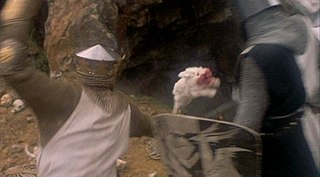 Rabbit of Caerbannog Fictional animal in the film Monty Python and the Holy Grail