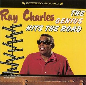 The Genius Hits the Road - Image: Ray Charles Genius hits the road