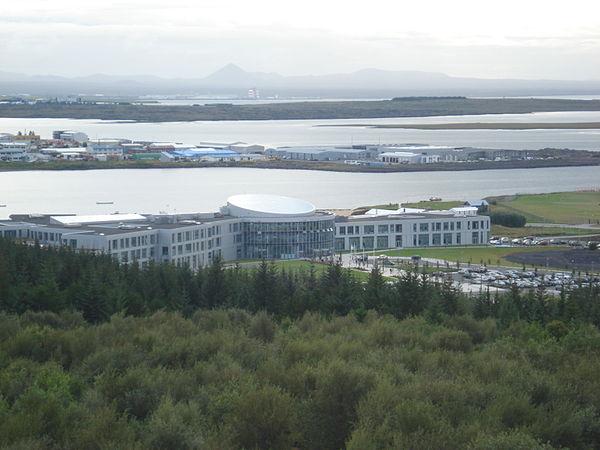 Reykjavik University's Nauthólsvík campus.