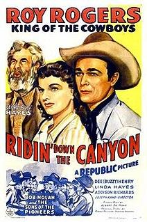 <i>Ridin Down the Canyon</i> 1942 film by Joseph Kane