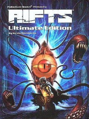 Rifts (role-playing game) - Image: Rifts RPG Ultimate Edition 2005