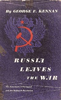 <i>Russia Leaves the War</i> book by George Kennan