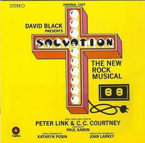 Salvation (musical) - The cover of the original-cast album for Salvation.