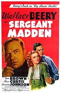 <i>Sergeant Madden</i> 1939 film by Josef von Sternberg