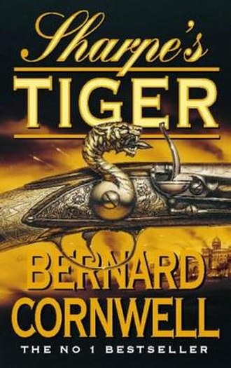 Sharpe's Tiger - Cover of the UK Paperback edition