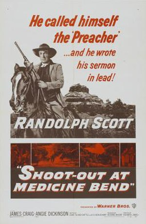 Shoot-Out at Medicine Bend - theatrical release poster