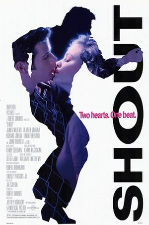 Shout (film) - Theatrical release poster