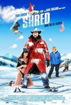 Shred (film) - Promotional poster