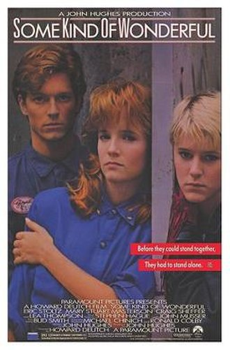 Some Kind of Wonderful (film) - Theatrical release poster