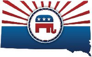 South Dakota Republican Party - Image: South Dakota GOP Logo