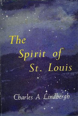 The Spirit of St. Louis (book) - Book cover of the first edition, 1953