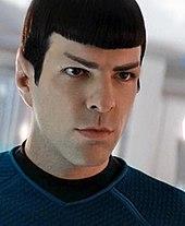 Spock till star trek massan