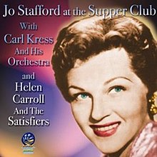 At the Supper Club-Jo Stafford