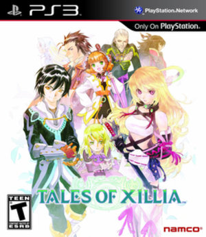 Tales of Xillia - Image: Tales of Xillia Cover