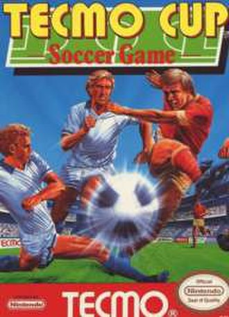 Tecmo Cup Soccer Game - Cover art