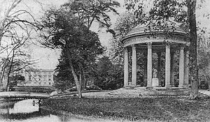 The Well of Loneliness - Marie Antoinette's Temple of Love near the Petit Trianon, Versailles, where Stephen and Brockett visit