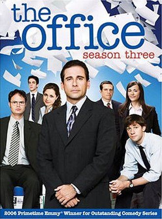The Office (U.S. season 3) - DVD cover