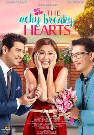 The Achy Breaky Hearts - Theatrical movie poster