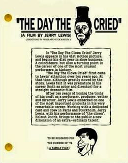 <i>The Day the Clown Cried</i>